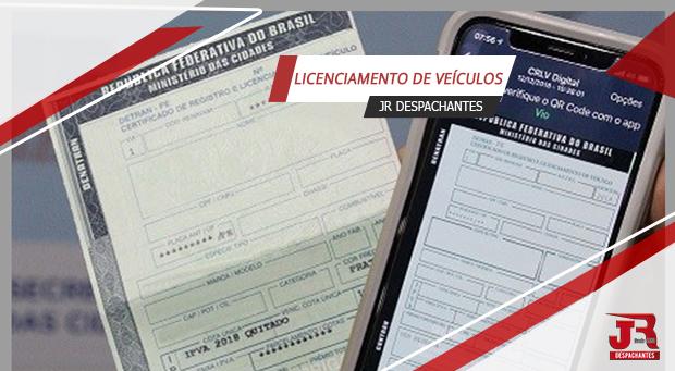 Licenciamento Anual