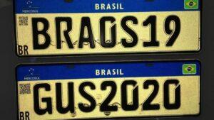 Alerta!Cuidado com quem é contratado para confeccionar as suas placas Mercosul!