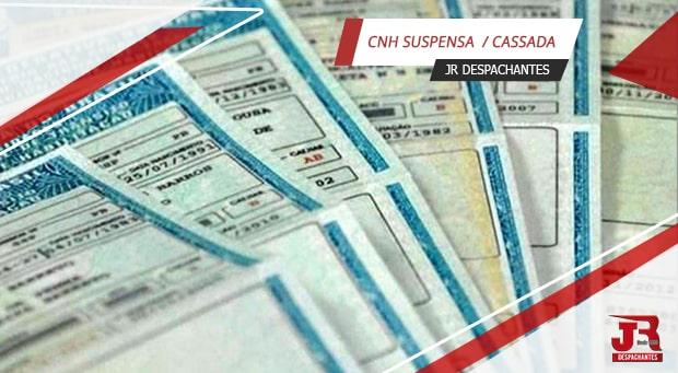 Suspensão ou Cassação de CNH