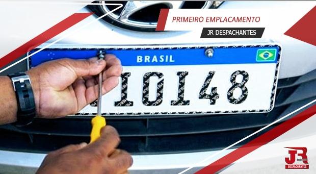 Emplacamento de veículos 0 KM em Bragança Paulista